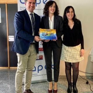 L'AAPET atorga el premi «PEDRO ZARAGOZA ORTS» a la Fira de Tots Sants