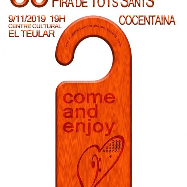 This Saturday is the 39th Fira Tots Sants Coral Contest