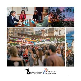 La Agencia Valenciana de Turismo apoya a la Fira de Tots Sants