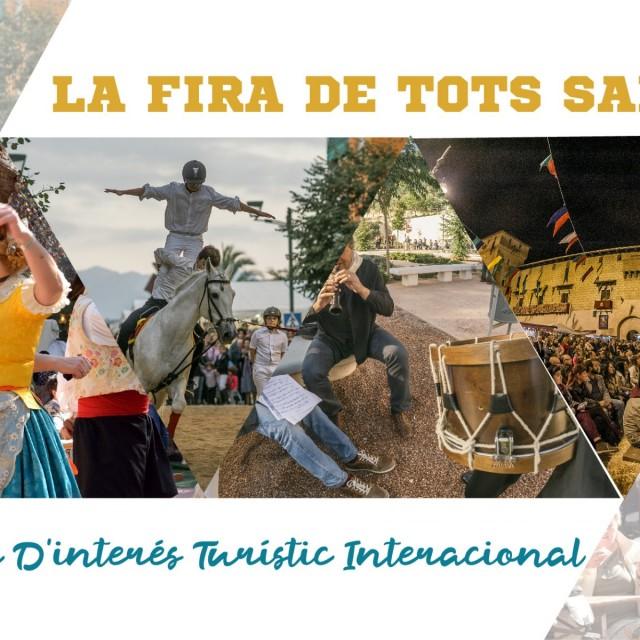 La Fira de Tots Sants de Cocentaina obtiene la distinción de Fiesta de Interés Turístico Internacional