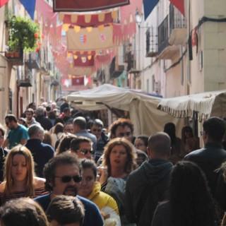 La Feria de Todos los Santos rompe su techo: Cocentaina registra 557.922 personas en 4 días