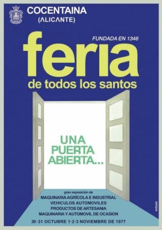 Cartel Año 1977