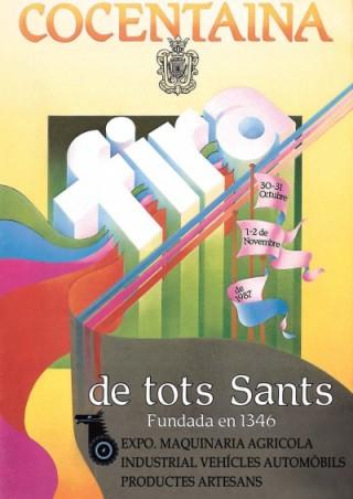 Cartel Año 1987